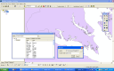 POSTGIS Data in ArcMap with identify window.